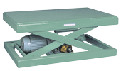 モーター式でギヤ・チェーン未使用・無給油で使用可能なモーター(カム)リフター。