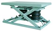 エアー式で「高」ストロークを実現したテーブルリフター。