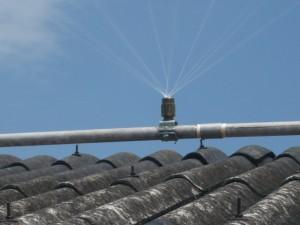 屋根冷却システム01。